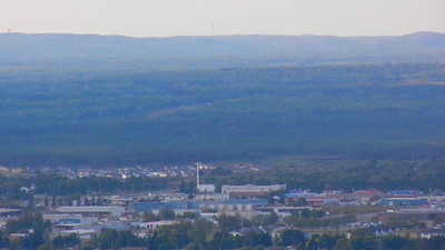 Video Pan of Thunder Bay, Ontario, Canada,   from Mount MacKay Scenic Lookout.